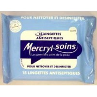 MercrylSoins Lingettes Antiseptiques.