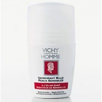 Vichy Déodorant Homme Bille Peaux Sensibles à l'Oligo-Zinc