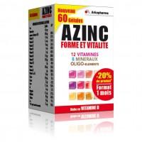 Azinc forme et vitalite Adultes 60 Gélules
