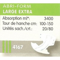 Abri-Form large extra L3 carton ref: 4167 - 43067