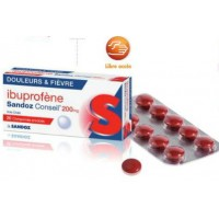 Ibuprofène 200mg Sandoz