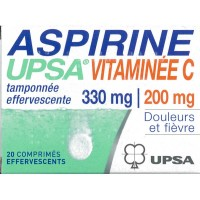 Aspirine UPSA Vit C Effervescent