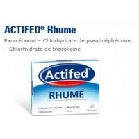 Actifed Rhume 15 cpr.