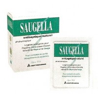Saugella Lingettes Antiseptiques.