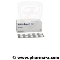 Biotine Bayer 5mg Comprimés