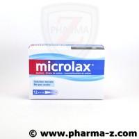 Microlax Adulte Boite de 12 Unidoses