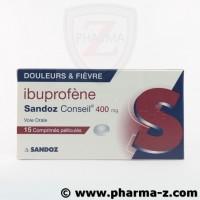 Ibuprofène Sandoz Conseil 400 mg