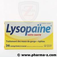 Lysopaine 36 cpr à sucer