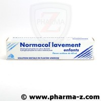 NORMACOL LAVEMENT ENFANTS, solution rectale, récipient unidose