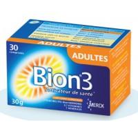 Bion 3 Adultes 30 Comprimés