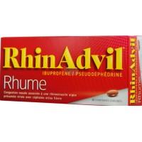 RHINADVIL RHUME IBUPROFENE/PSEUDOEPHEDRINE, comprimé enrobé
