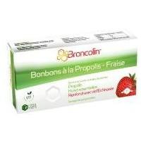 Broncolin Bonbons à la Propolis - Fraise