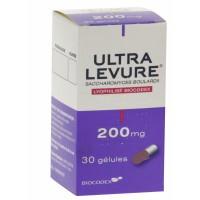 Ultra levure 200 mg boite 30