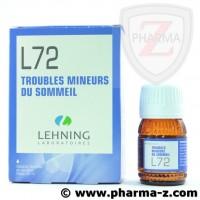 L72 troubles mineurs du sommeil Lehning