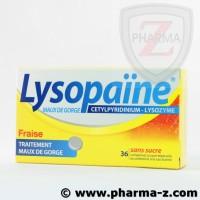 Lysopaine sans sucre gout fraise