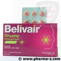 Belivair Rhume Bte de 15cpr Adultes