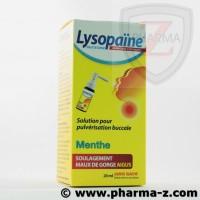 Lysopaine Ambroxol Solution pour pulvérisation buccale