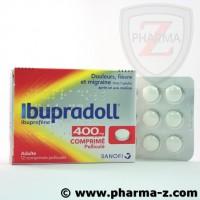 Ibupradoll 400 mg comprimés pelliculés