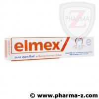 Elmex Dentifrice sans menthol