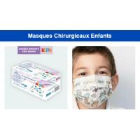 Masque chirurgicaux Enfants type 2 R Boite de 50