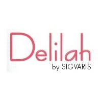Delilah Bas Auto-Fixants Chocolat