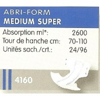AbriForm Médium Super Sachet 4160 - 43060