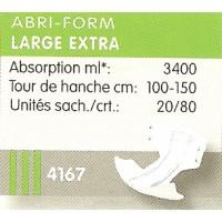 Abri-form Large Extra L3 Sachet ref: 4167 - 43067